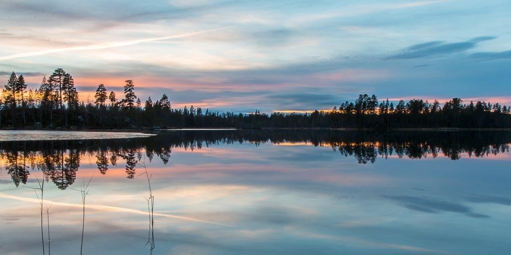 zonsondergang zweden dorotea norge reiser.jpg