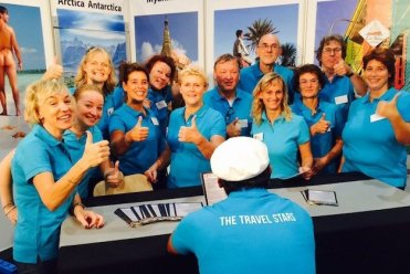 the travel stars leden op de beurs
